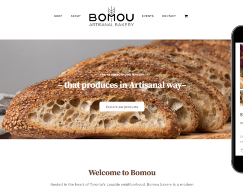 Bomou – eCommerce Website Design